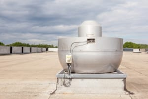 flat roof  cooling air conditioning