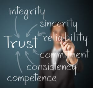 trust, honesty, integrity concept