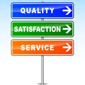 roofing quality, service, satisfaction