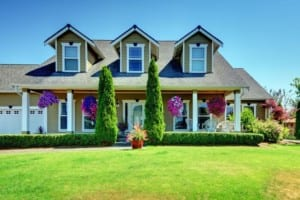 roofing, landscaping, home curb appeal