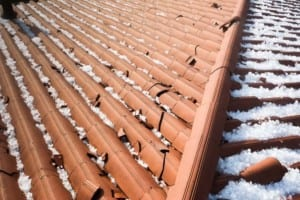 Denver roofing companies fix hail damage