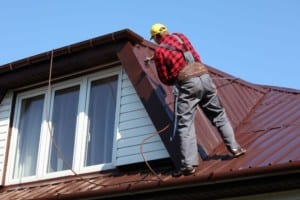 Denver roofing companies clean metal roofs