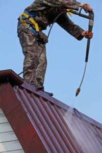 Colorado Springs roofing companies paint roofs