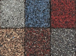 roofing shingle asphalt colors