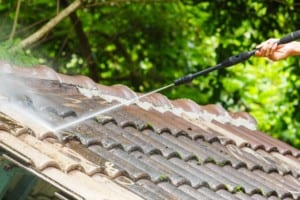 use Denver roofing companies to remove roof stains