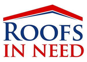 Roof in Need program logo