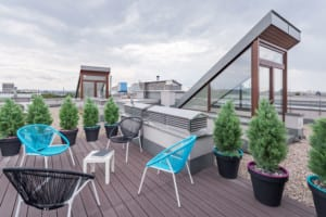 commercial roofers in Denver can complete roof top terrace