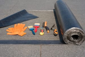Fort Collins roofer - flat roofing tools